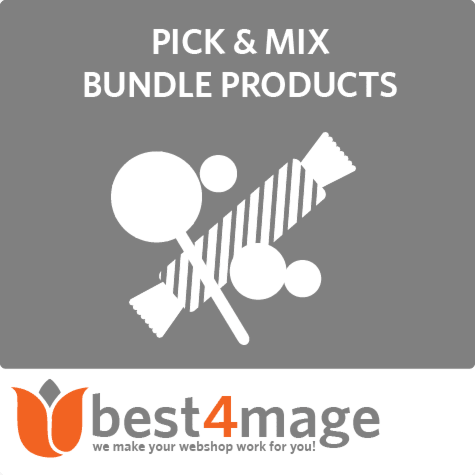 Pick & Mix bundle products for Magento 2