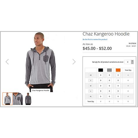Configurable products order grid for Magento 2
